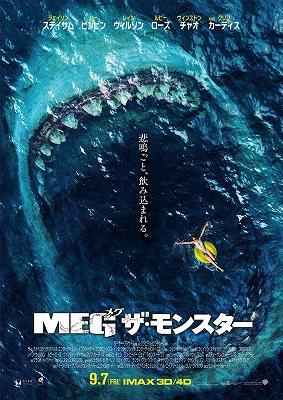 映画「MEG ザ・モンスター」ネタバレ あらすじ